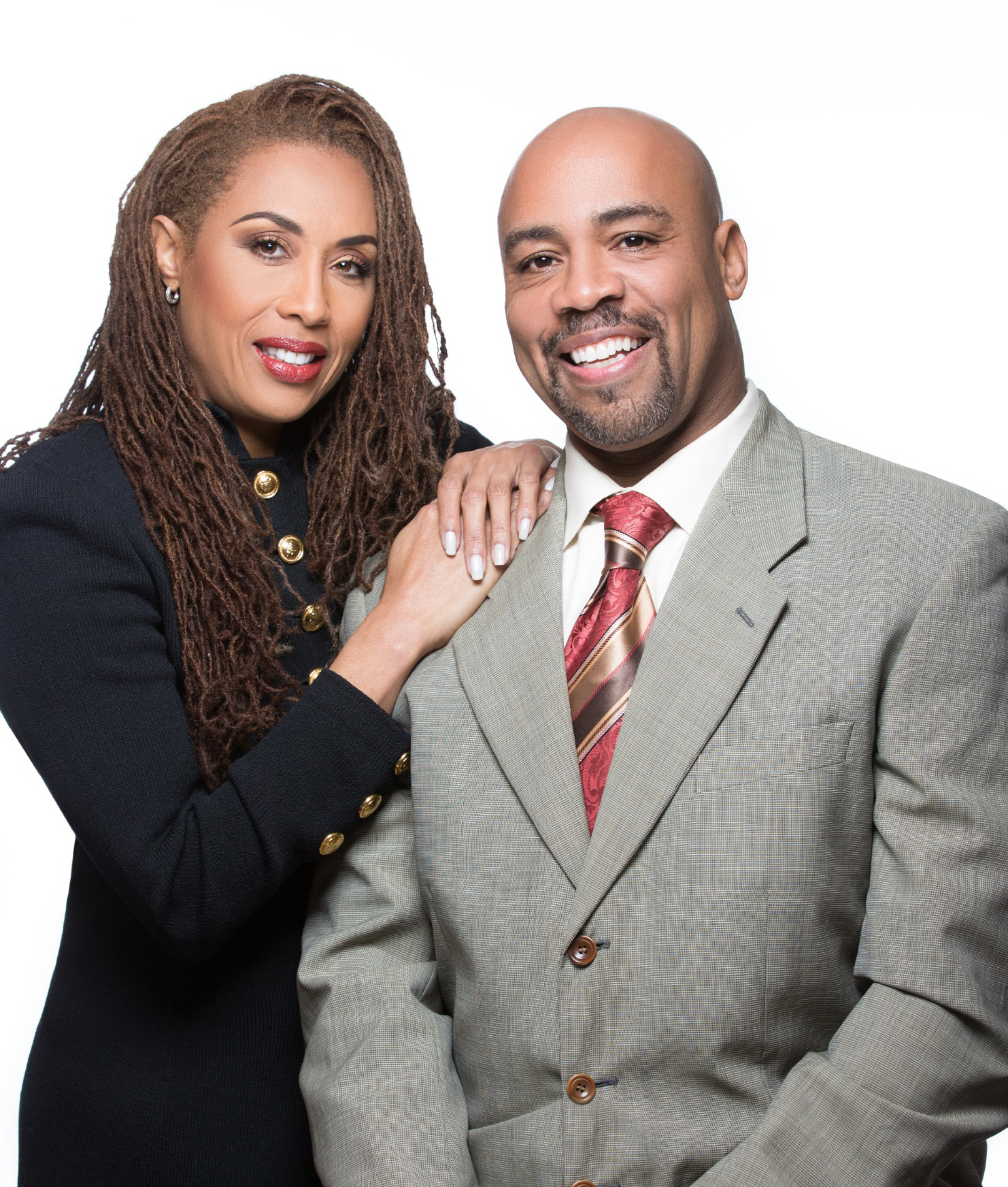 Photo of Former NFL couple Reggie and LaChanda Dupard
