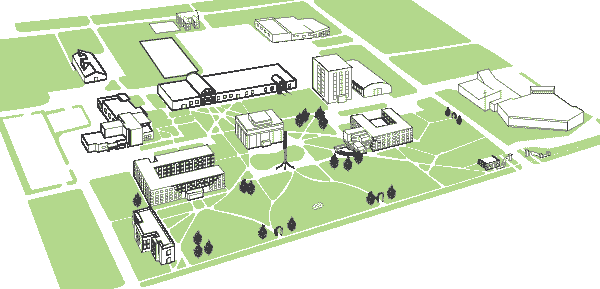 map of Union College campus