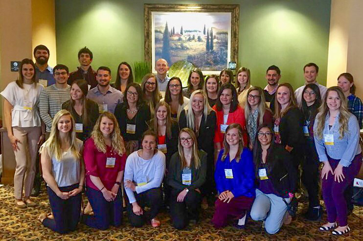 photo: Students visit PA conference.