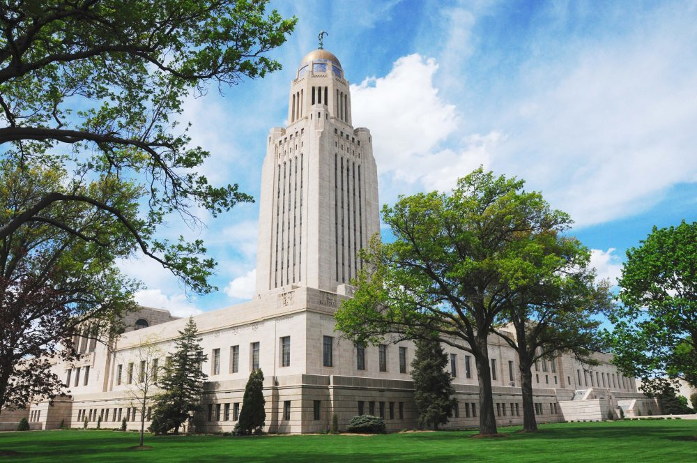 Photo: Nebraska capitol building