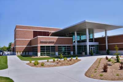 Photo of krueger center building.