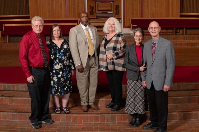 Photo of the Class of 1979 with spouses