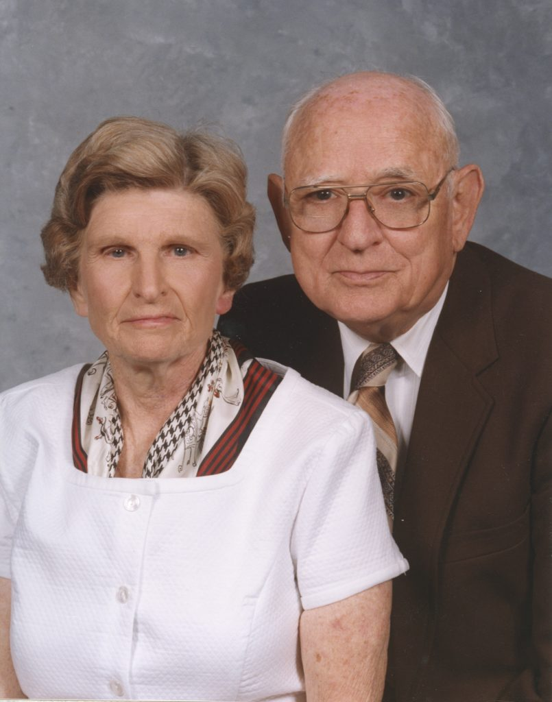 Photo of Ira and Margie Pound