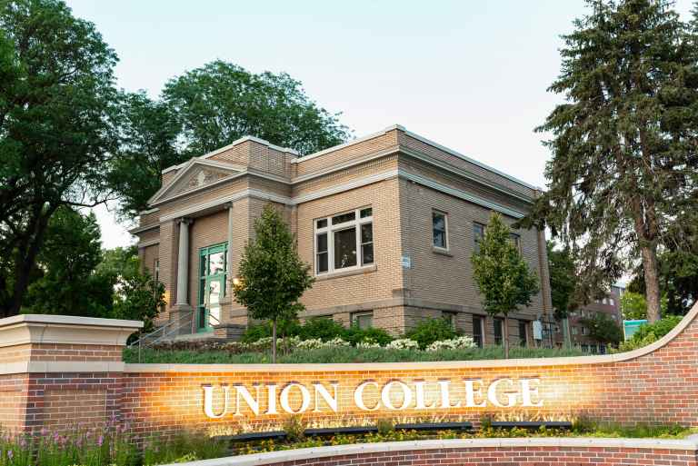 The Carnegie Building is home to Union's Integrated Marketing Communications team.