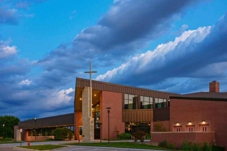 The College View church provides a welcoming faith community to students.