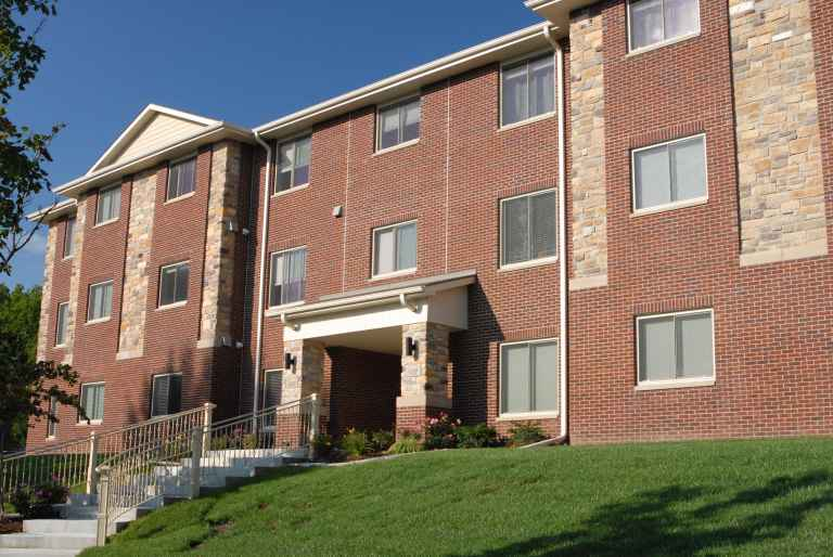 Cooper Place Apartments are conveniently located on campus.