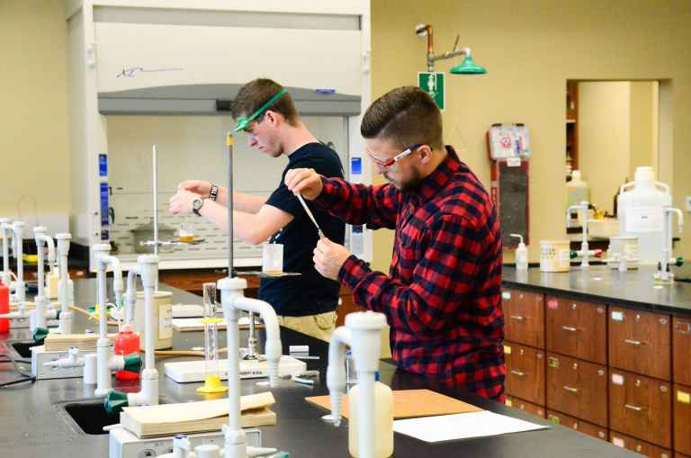 Whether working on a class project or assisting professors with research, the Krueger Center has room to experiment.