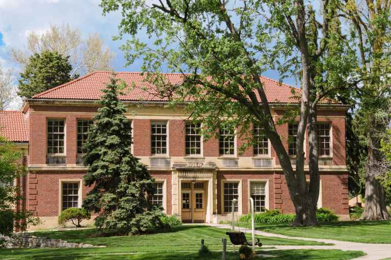 Engel Hall is home to Union's music, graphic design and digital imaging programs.