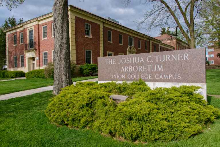 Part of the state-wide arboretum system, Union's campus is home to more than 100 species of trees and shrubs.