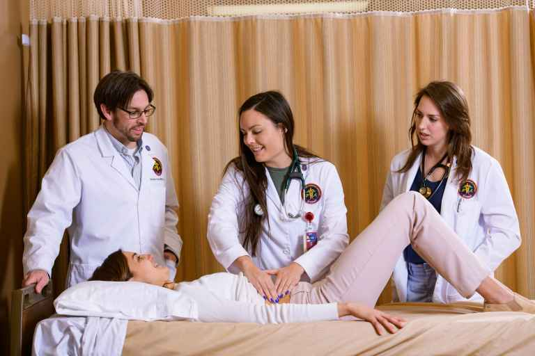 The Physician Assistant Program offers Union's only master's degree.