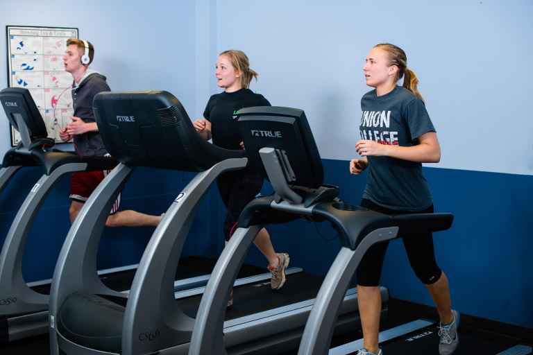 Larson Lifestyle Center's cardio room is a great escape from the freshman 15.