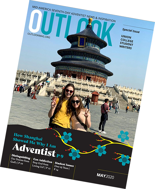 Union's Magazine Writing class wrote the feature articles for the May 2020 Outlook magazine.