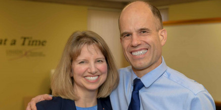 Photo: Drs. Barry and Lisa Forbes